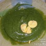 Zeleni pire od karfiola i blitve
