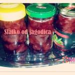 Pravimo slatko od jagodica :)