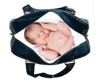 NS: Pronađena beba u torbi kraj porodilišta