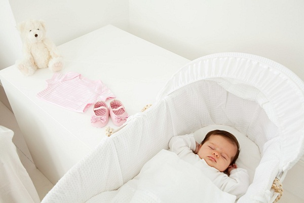 Baby sleeping in a bassinet, Image: 90202360, License: Royalty-free, Restrictions: Specifically, you may not use the Images in ways or contexts that might reasonably be construed as pornographic, defamatory, libellous or otherwise unlawful; Specifically, you may not use images depicting any model in any unduly controversial or unflattering context, unless accompanied with a statement indicating that the person is a model and the images are being used for illustrative purposes only., Model Release: yes, Credit line: Profimedia, ImageSource
