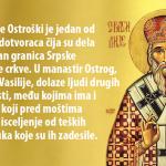 Ovo je molitva Svetom Vasiliju Ostroškom: Izgovorite OVE REČI i spasićete se svake muke i bolesti I podariti decu
