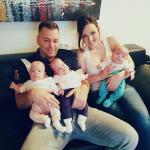Tada nam je rečeno da su dve bebe jako ugrožene i da se boje da neće preživeti, da je treća malo jača ali da opet nisu sigurni ni za nju