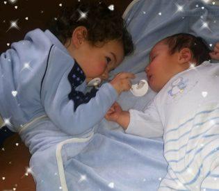 Za dve godine dvoje dece oni su moje dve najveće ljubavi