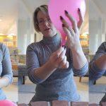 Kako je jedna babica na najoriginalniji način pokazala pomoću balona kako beba izlazi iz porođajnog kanala