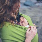 Podelila je sliku svojih povreda kao UPOZORENJE! Mnoge majke ovako nose bebe i mnogo rizikuju!