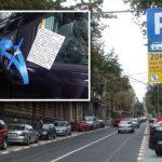 Beograđanki Mariji su slomili retrovizor: Ona je u 7. mesecu trudnoće i na kolima je ostavila najoriginalniju poruku ikada