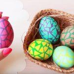 Mozaik jaja: Prelepa tehnika farbanja ne može da vam ne uspe!