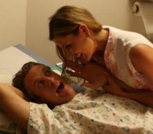 Neobičan poklon za suprugu: Muškarac iskusio porođajne bolove (VIDEO)