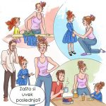 11 ilustracija zbog kojih će roditelji male dece istovremeno želeti i da se smeju i da plaču!